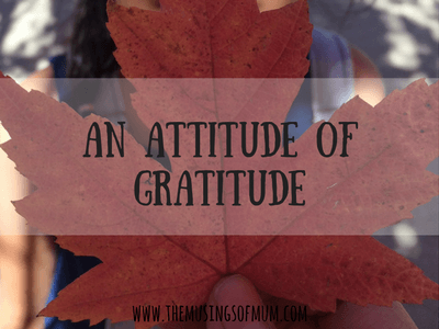 An Attitude of Gratitude | The Clavicle Incident