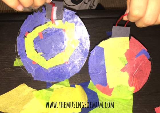 Stained Glass Window Ornaments - The Musings of Mum
