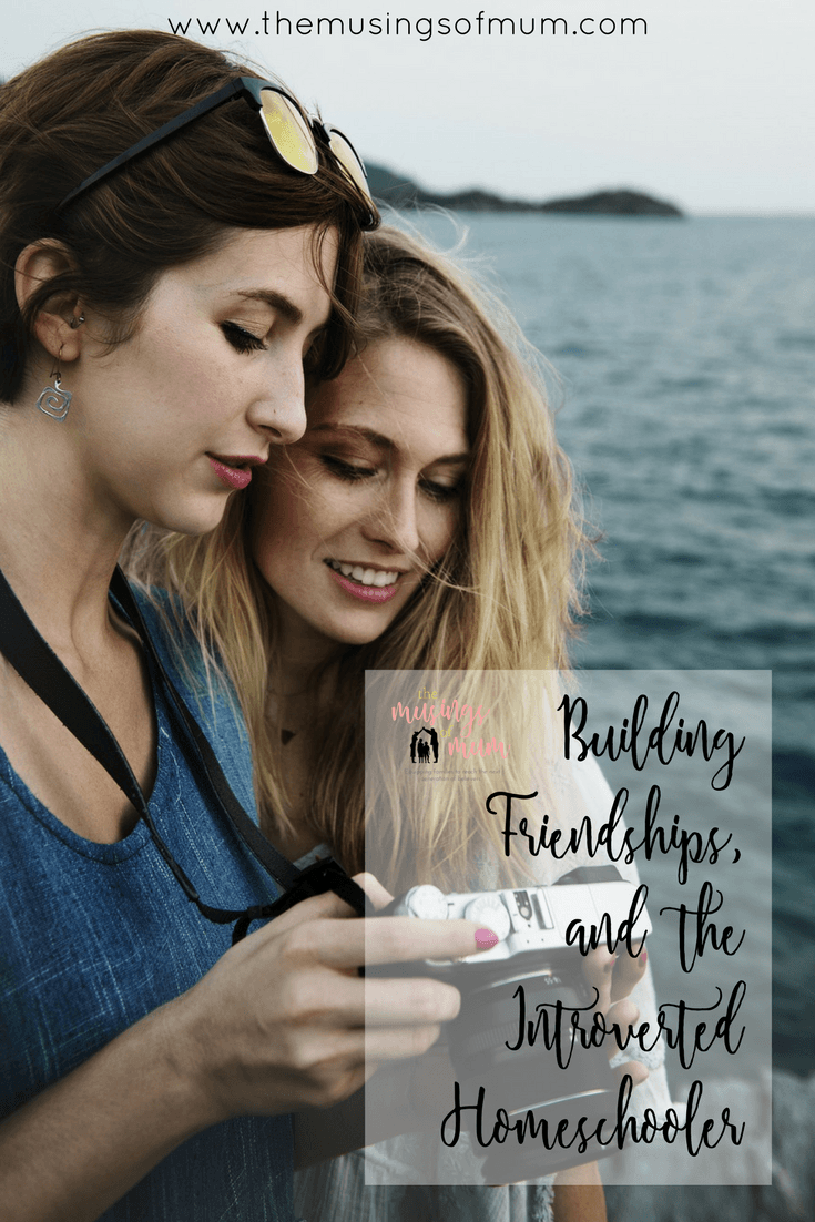 Building Friendships, And The Introverted Homeschooler