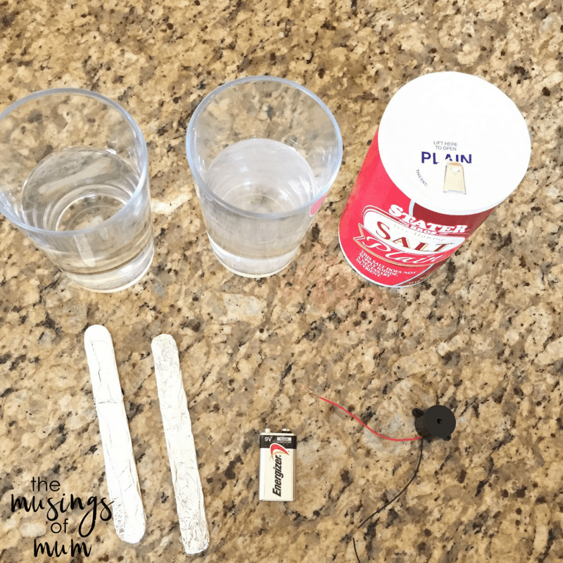 Conductivity Of Water : Salt water conductivity experiment to explore currents and