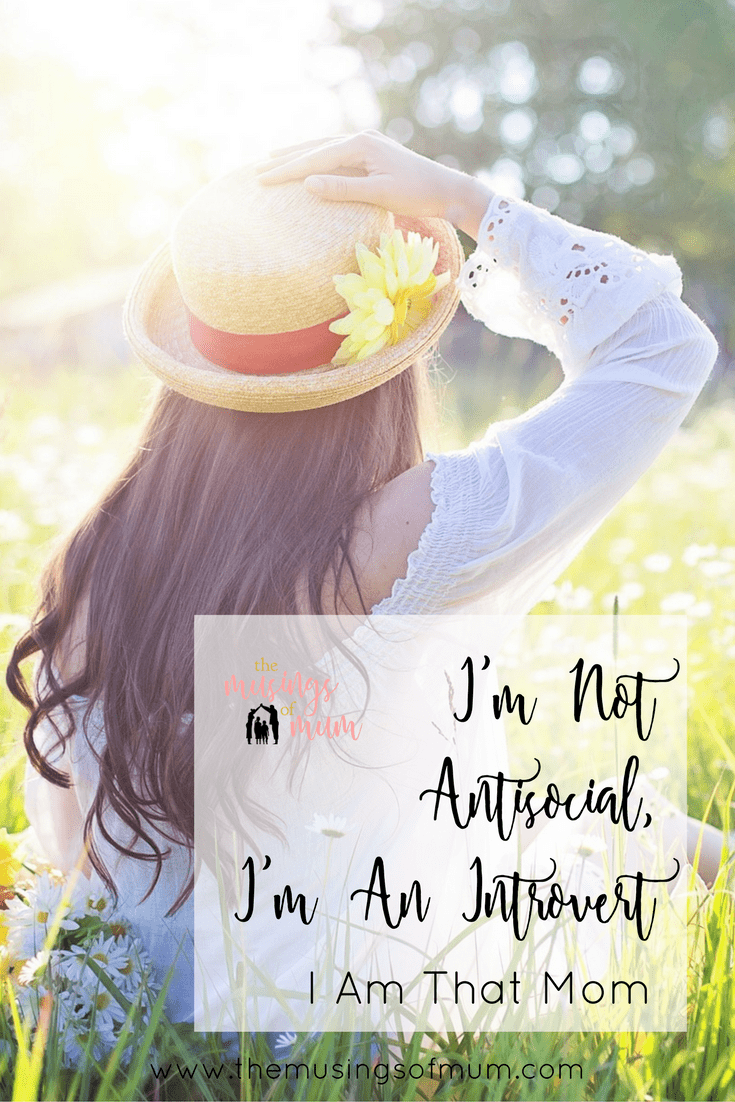 I'm Not Antisocial, I'm An Introvert