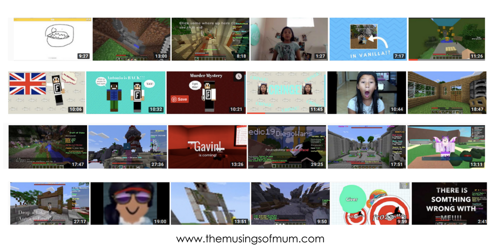 Through the Eyes of Middle School YouTubers