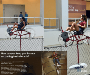 High Wire Bike - The Musings of Mum